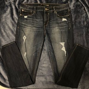 Express Mid Rise Skinny Jeans Size 10